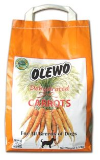 Dehydrated Carrots - Dog 5.5 lbs