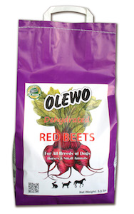 Olewo Red Beets for Dogs 5.5 lbs