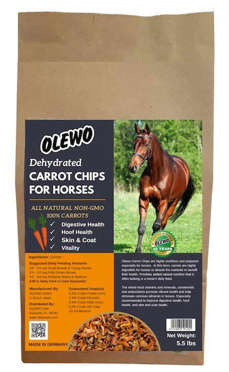 olewo carrots for horses bag 5.5 lbs