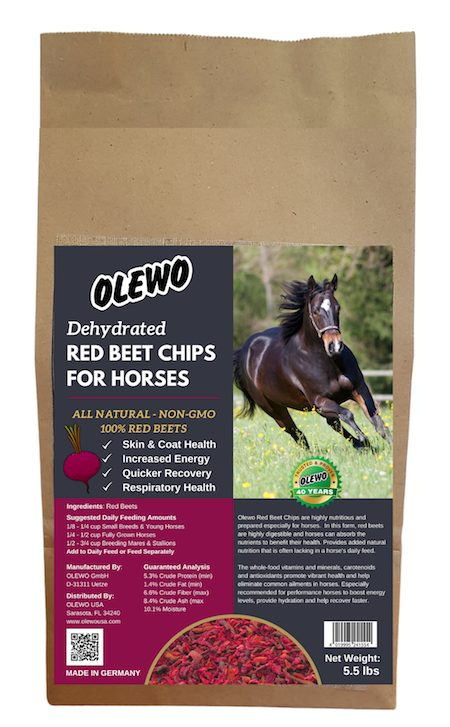 olewo red beets for horses bag 5.5 lb